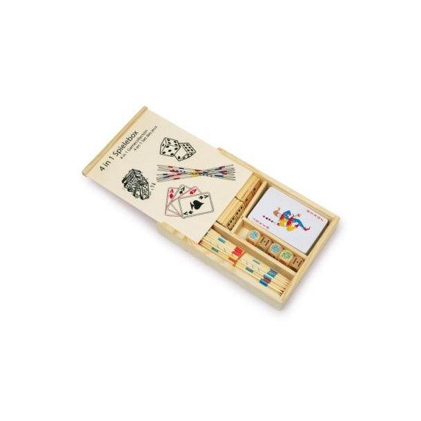 4 SPIL BOX