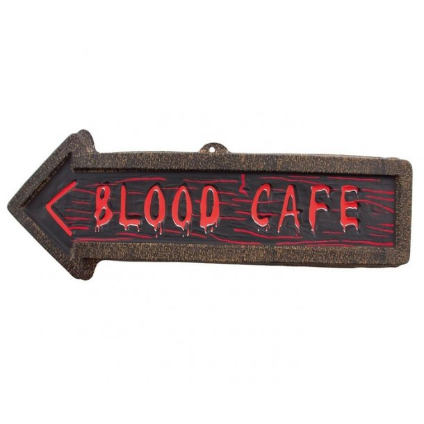 BLOOD CAFE SKILT