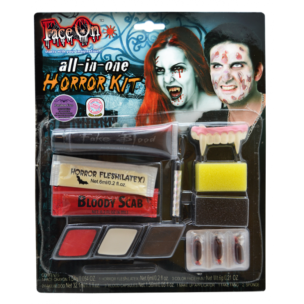 ALL IN ONE HORROR MAKEUP