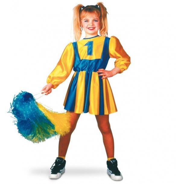 BLUE CHEERLEADER GIRL