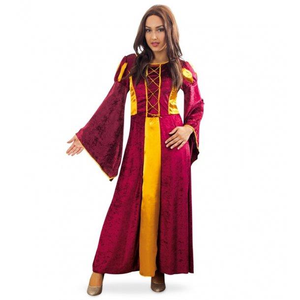 middelalder kjole