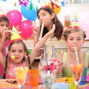 Børnefødselsdags fest